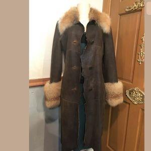 Jackets & Blazers - $1900  Damselle Ny Genoune Fox Fur Trench Coat S